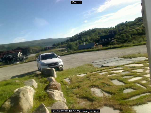Webcam Ustaoset, Hol, Buskerud, Norwegen